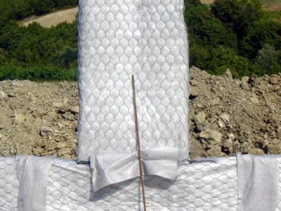 Camino verticale, specifico per la captazione delle acque più superficiali
