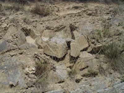 Rafforzamento corticale in ammasso roccioso